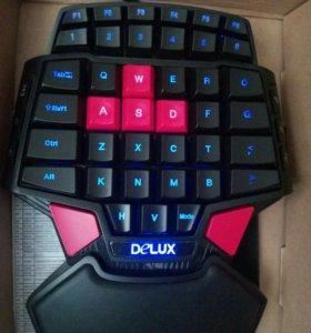 Игровая клавиатура Deluxe T9
