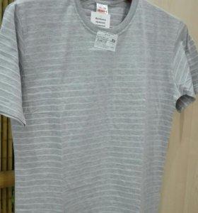 Новая футболка 50р,52р х/б