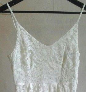 Платье h&m кружевное