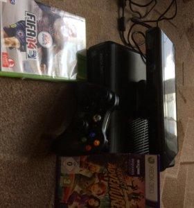 Xbox 360 кинект+игры