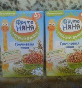 """Каша """"Фруто Няня"""" гречневая безмолочная (новая)"""
