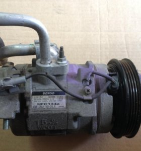 компрессор кондиционера для Toyota кузов GX110.