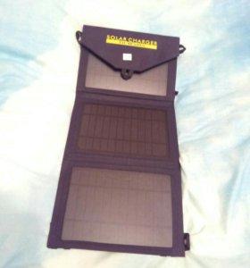 Портативная солнечная батарея для телефонов