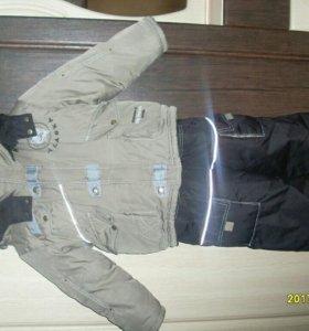 Комплект зимний(Куртка + комбинезон)