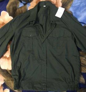 Офисная Рубашка повседневная для военнослужащих