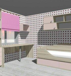 Дизайн-проект мебели и интерьера