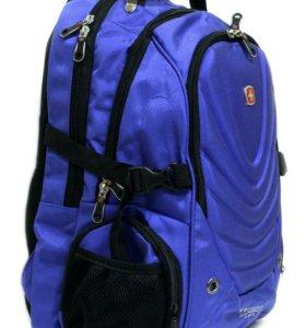 Рюкзак новый swissgear синий