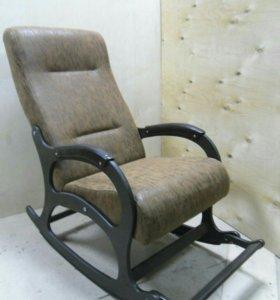 Кресло качалка Престиж, замша Shammy Rain 16
