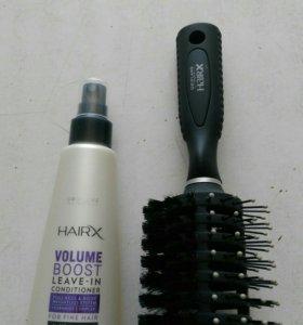 Расчёска и кондиционер для волос Орифлейм