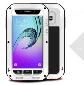Чехлы love mei Samsung A3/A5/A7/A8/A9 защитные