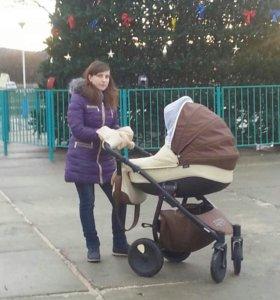 Детская коляска 3 в 1 зиппи фирма