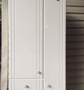 Шкаф для ванной с ящиком