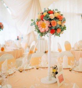 Подставка под цветы (свадебная)
