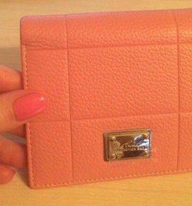 Новый кошелёк 100% натуральная кожа
