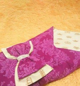 Одеяло конвертик на выписку