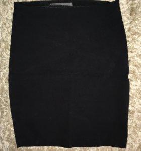 Чёрная юбка Zara