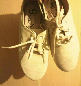 Тканевые туфли 37 размер