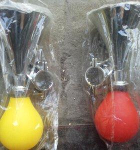 Велосипедные дудки пищалки