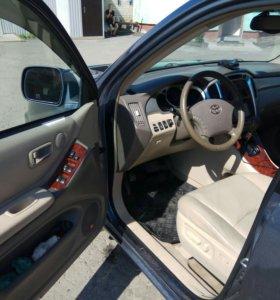 Toyota Highlander 3.3AT, 2004, внедорожник