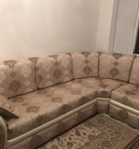 Угловой диван + 1 кресло