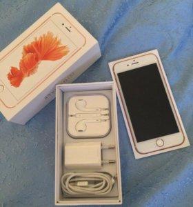 iPhone 6s rose gold новый