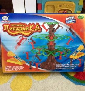 Игра Попадайка! Обезьяны на дереве