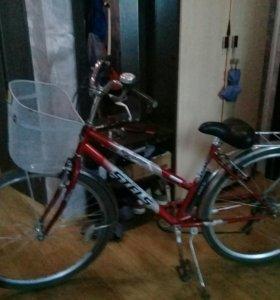 Велосипед Стелс Новигатор.