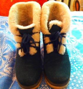 Зимнии ботиночки