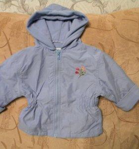Курточка на осень для девочки от 1-2 года