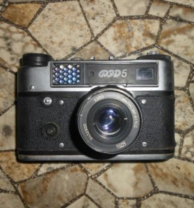 Фотоаппарат старинный.