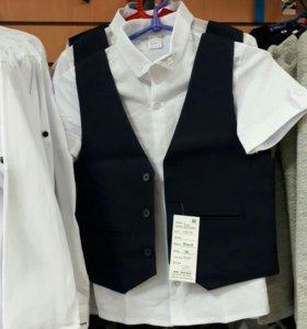 Жилеты рубашки галстуки