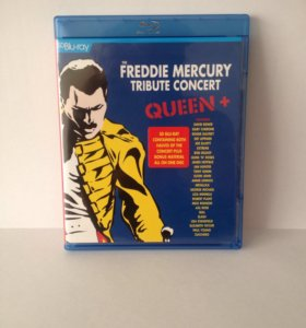 Bly-Ray Queem+-Freddie Mercury Tribute Concert.