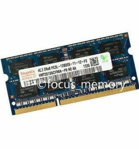 DDR3L 4 Gb для ноутбука