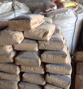Цемент фасованный в мишки М 500