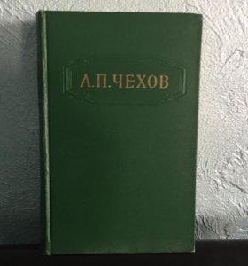 Продаю собрание сочинений А.П.Чехова в 12 томах 1955 года