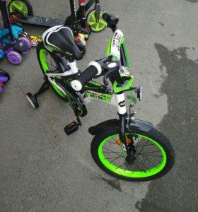 Велосипед диаметр 16 новые