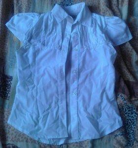 Рубашка с коротким рукавом.