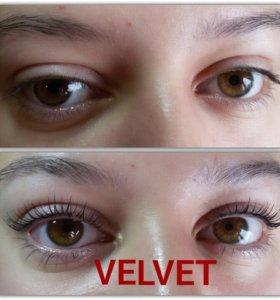 Velvet для ресниц
