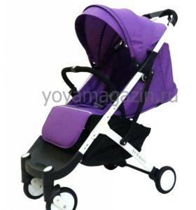 Прогулочная коляска Yoya плюс фиолетовая в наличии