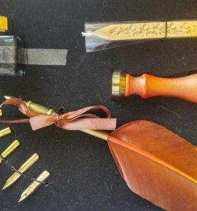 Подарочный набор ручка-перо