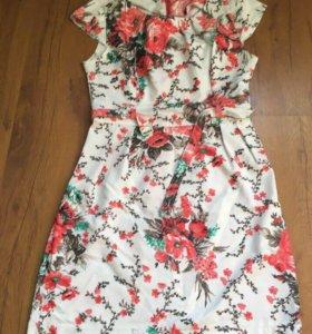 Платье летнее, легкое