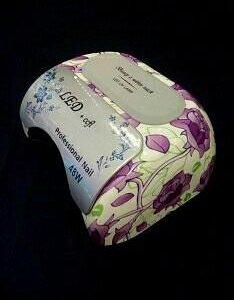 Уф лампа гибрид 48 Вт фиолетовые цветы