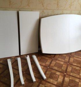 Стол для гостиной из натурального дерева