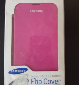 Чехол для Samsung Galaxy Note 2 розовый