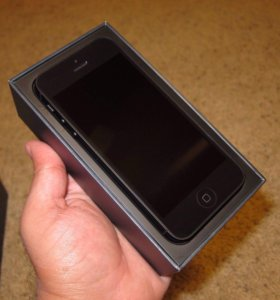 IPhone 5 black 16 gb