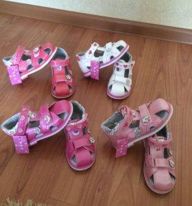 Детские сандалии с 26-30