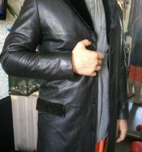Куртка мужская, кожа.