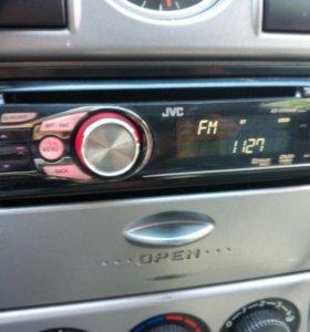 Автомагнитола JVC с пультом управления, DVD, FM US