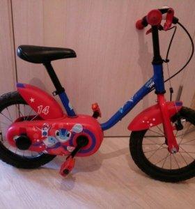 Велосипед колесо 14