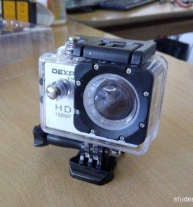Экшн камера Dexp S50 b и чехол